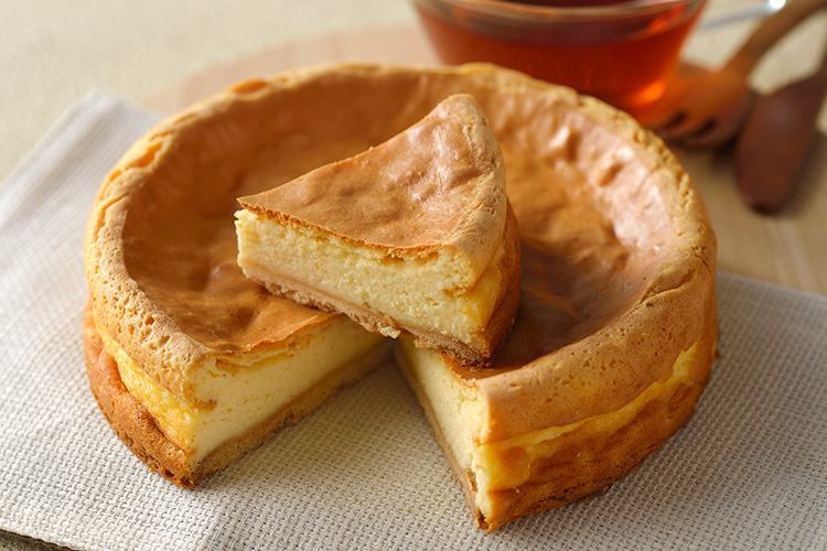 チーズケーキ和栗